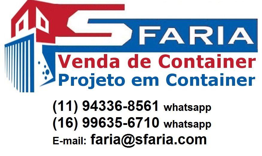 Venda de Container | Pesquise Preços de Container no Sfaria.